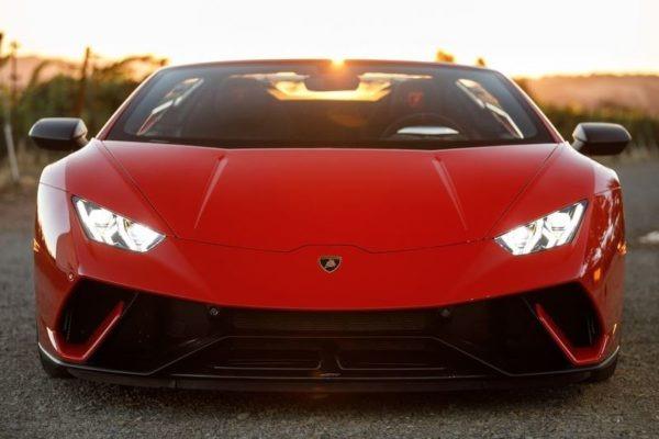 Lamborghini Huracan 2018 front image