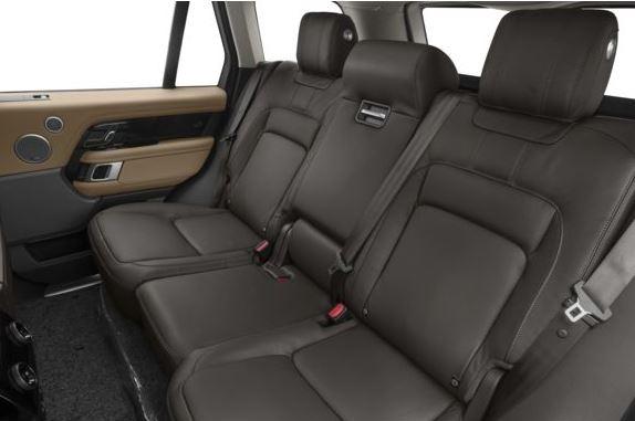 Land Rover Range Rover 2018 Back Seats