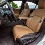 Lexus ES 2019 front seats