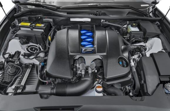 Lexus GS F 2018 Engine Image