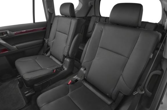 Lexus GX 2018 back seats