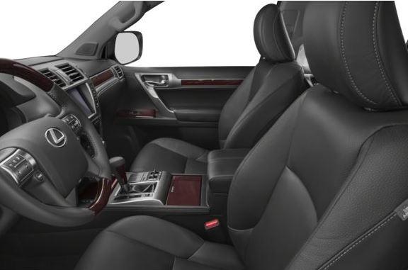 Lexus GX 2018 front seats