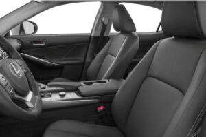 Lexus IS 2018 Front Seats