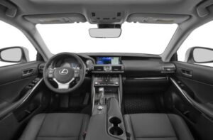 Lexus IS 2018 Steering And Transmission