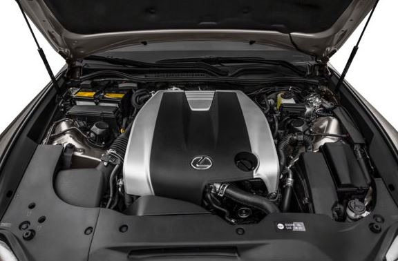 Lexus RC 2018 Engine Image