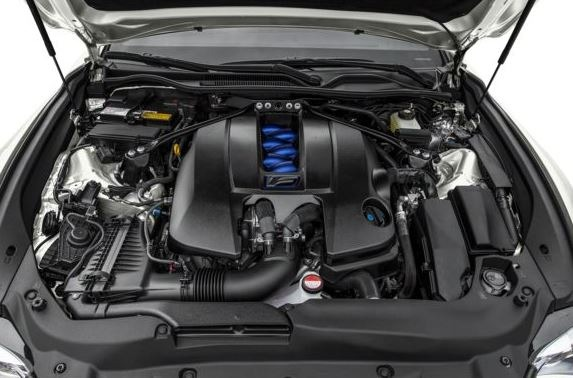 Lexus RC F Engine Image