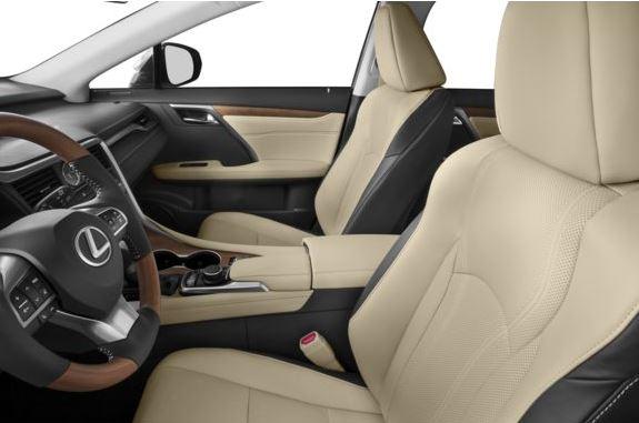 Lexus RX 2018 Front Seats