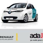 Moov'in Paris Car Sharing service by Renault & ADA – 2018 News