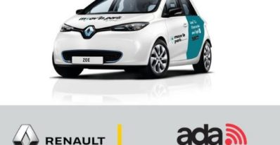 Renault & ADA partnered to Provide car sharing service in Paris