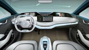 Skoda E-Vision Concept Interior