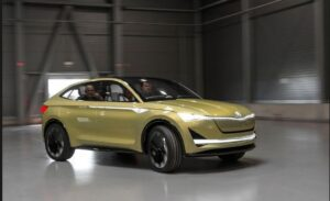 Skoda E-Vision Concept is for 2021