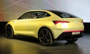 Skoda E-Vision concept will based on same platform as volkswagen ID Hatchback