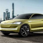 Skoda Vision E-Concept will be available in two different versions Crossover and Crossover coupe