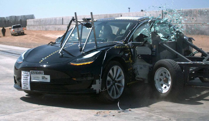 Tesla Model 3 is the safest car of the Tesla by US Traffic safety association