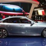 Vietnam's first car brand Vinfast displayed Sedan at paris Motor show