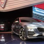 Vinfast Lux SA2.0 Sedan Displayed at Paris Motor show
