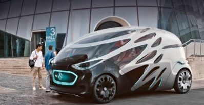 Vision URBANETIC a standalone aesthetic for a mobility concept that has never before existed