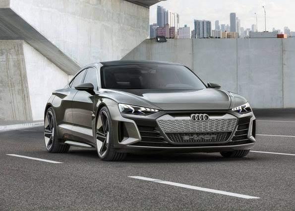Audi e-tron GT Concept New Rival to Tesla's sedans