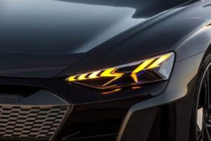 Audi e-tron GT concept beautiful Headlights