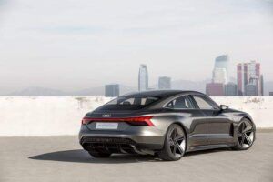 Audi e-tron GT has so many design cues similar to Tesla Taycan