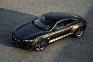 Audi etron concept & porsche Taycan