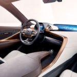 Interior of Limitless LF1 concept of Lexus