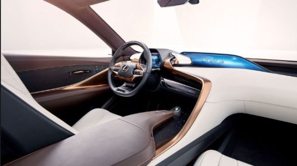 Interior of Limitless LF1 concept of Lexus
