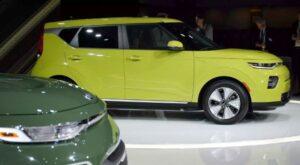 KIA soul EV gets 64kWh battery for more driving range