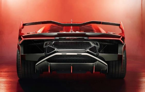 Lamborghini SC18 Alston Rear View