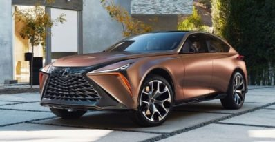 Lexus Lf1 Limitless is a future design for its SUV's