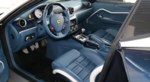 599 GTZ Nibbio Zagato ferrari interior