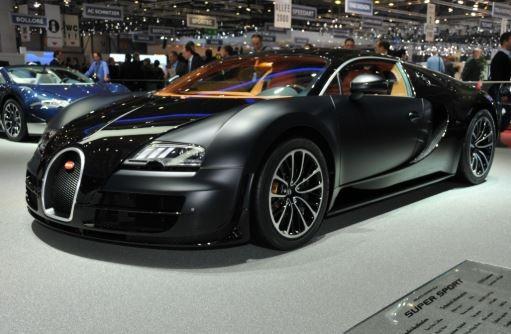 Buggati Veyron World's fastest car