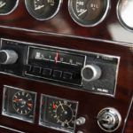 Classic great looking center console of Toyota 2000 GT