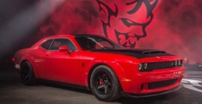 Dodge Demon is Equipped with 800 horse power