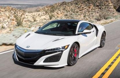 Honda NSX - The Hybrid Super Car