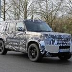 Land Rover Defender is expected to launch in 2020