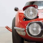 Pop up Headlights of Toyota 2000GT