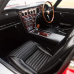 Toyota 2000 GT interior was made using High quality leather and wood