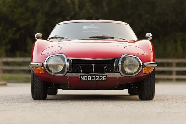 Toyota 2000GT first Super car by the company