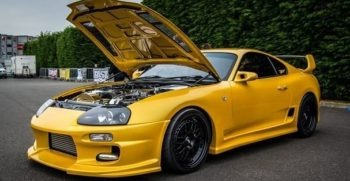 Toyota Supra the beast of Drag Race with heart of 2JZGTE