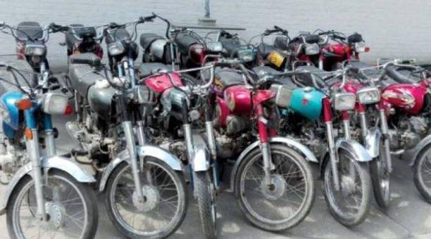 Gujranwala 2 dozen bikes recovered, bike lifter gang arrested.