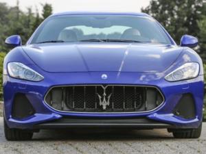 Maserati GranTurismo 2018 Front Image