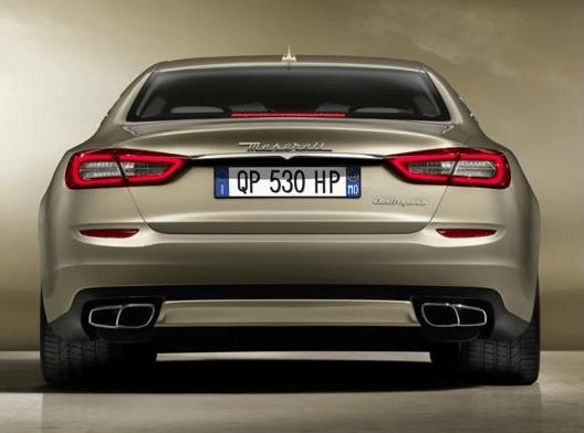 Maserati Quattroporte 2018 Back Image