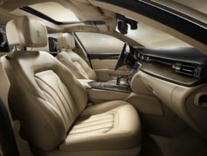 Maserati Quattroporte 2018 Front Seats