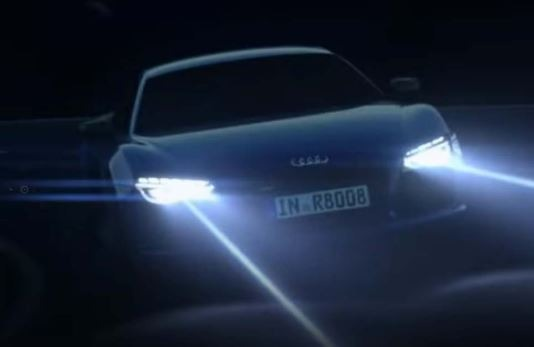 New Laser lights technology for cars