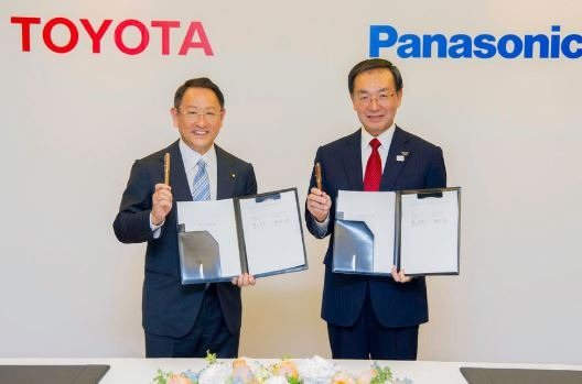 Toyota and Panasonic Joint venture for EV battery production