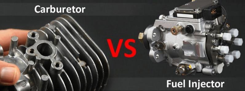 carburetor Engine VS Fuel Injector Engine