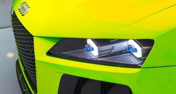 laser Headlights in Audi