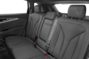 lincoln nautilus 2019 back seats