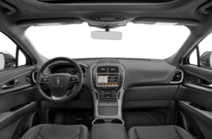 lincoln nautilus 2019 steering and transmission